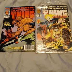 Marvel the Adventures of the thing comics